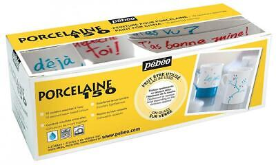 Pebeo Porcelaine 150-China Paint Set Cardboard, Box of 10, Assorted Colours