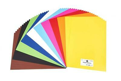 Perfect ideaz 50 Sheets Coloured Art Paper A2, Card Stock, Construction in...