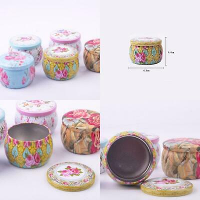 TooGet DIY Candle Pretty Tin Jars, Empty Reusable Cups for Homemade...