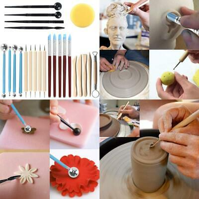 Polymer Clay Tools Set, HO2NLE Ball Stylus Dotting Rubber Color Shapers...