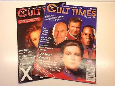 Cult Times Magazine Issues 1 & 2