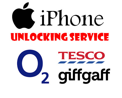 Unlocking Service For Apple iPhone X / XR / XS / XS Max - O2 Tesco GiffGaff UK