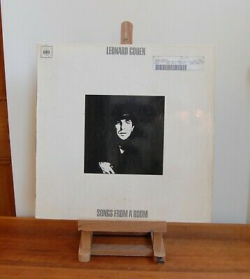 Leonard Cohen / Songs From A Room LP / First UK pressing CBS 63587
