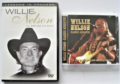 Willie Nelson - Classic Airwaves, Cd (1988) & Legends In Concert, Dvd (2004)