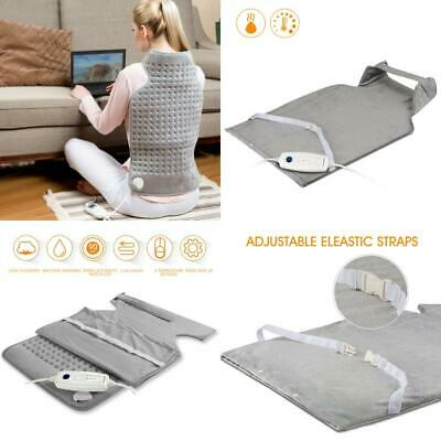 Hangsun Heating Pad Electric For Back Neck Shoulder Pain Relief  Hot Washable