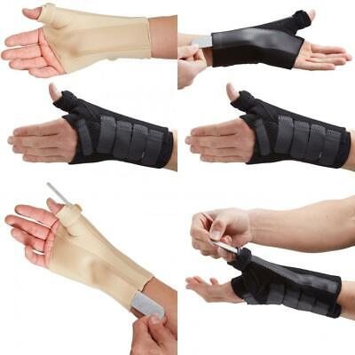 Actesso Wrist Thumb Support - Brace with Metal Splint - Ideal for Injuries,...