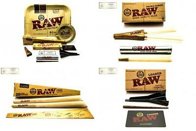 RAW Ultimate Cone Edition Large Rolling Tray | 52 Pre Rolled Cones | Double...