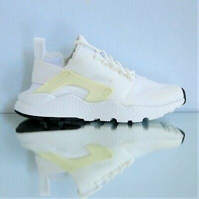 752597103dcd0 NIKE WOMEN S AIR Huarache Run Ultra 819151-102 White Black sz 5.5 ...
