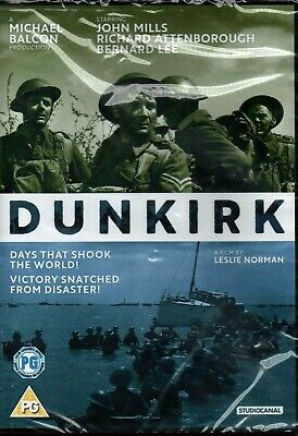 Dunkirk 2017 John Mills DVD - New & Sealed