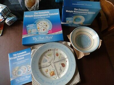 diet assist plate portion control weight loss system