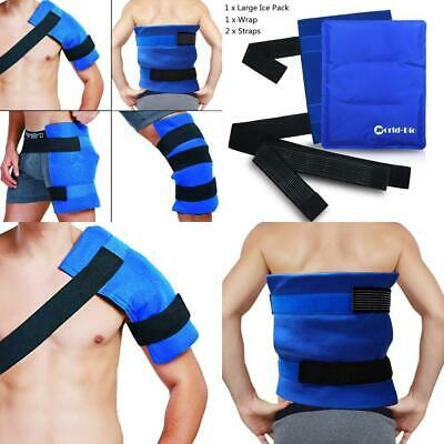Large Shoulder Ice Cold Pack Wrap For Shoulder, Knee, Back, Hip - Reusable