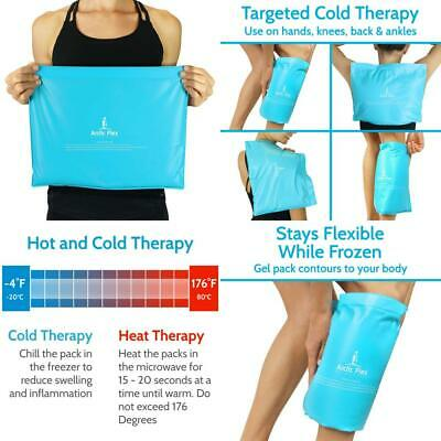 Arctic Flex Reusable Gel Ice Pack - Cold Therapy Bag - Medical Freezer Pad -...