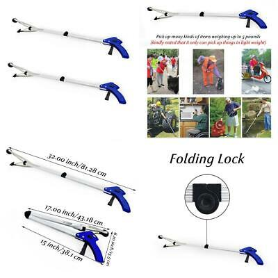 BeGrit Reacher Grabber Healthcare Reaching Aid Foldable Long Arm Claw Hand...