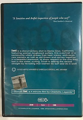 Swell by Charlotte Lagarde (DVD 1996) Surfing Surf *Very Good* *Free Shipping*