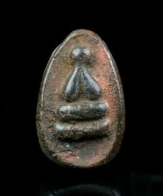 thai buddha amulet old Magic Powder PHRA PIDTA LP BOON The maestro POWERFUL