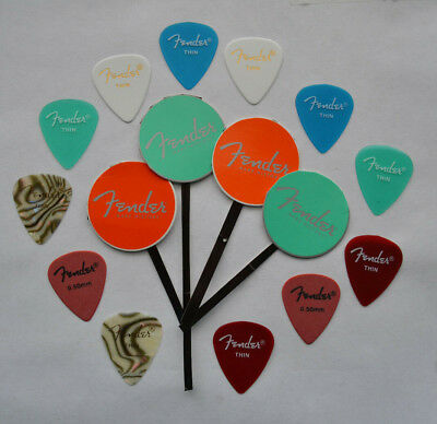 Fender Thin Guitar Picks Assorted Happy Pack