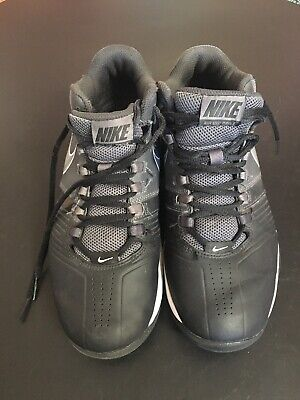 Nike Womens Air Visi Pro 5 Black Gray White Basketball Shoes Size 9.5  653772-001 9183d9432