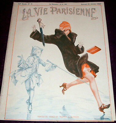 1927 La Vie Parisienne No.3-4 risque magazine, erotic illustrators, art deco ads
