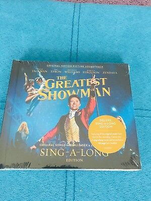 The greatest Showman-sing along 2 Cd Set- New.