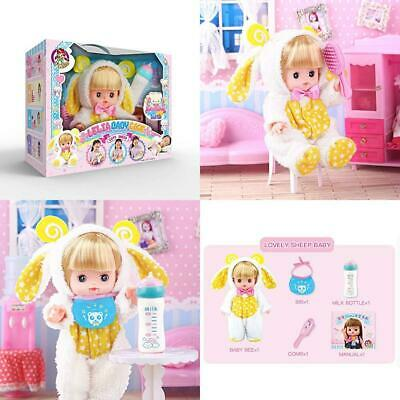 Baobe Simulation Baby Doll Early Learning Toy Girl Play House Set with...