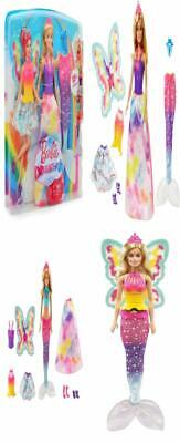 Barbie Dreamtopia Rainbow Lights Mermaid Fashion Doll Accessories Princess...