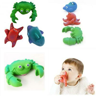 Natural Rubber Bath Toys Teether (Colours and Styles May Vary)
