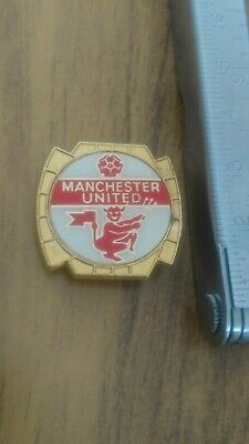 Rare Manchester United Red Devil emblem insert badge by Clubman