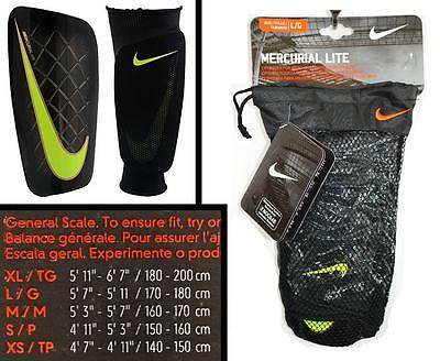 newest collection 3aa8e 44291 NIKE Mercurial Lite Soccer Shin Guards - Unisex  Men  Women - Large (L