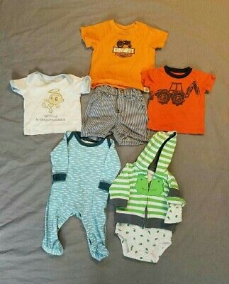 Lot of Baby Boy Clothes Size 3 Months Carhartt Katebaby Carter's