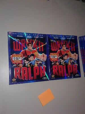 Wreck-It Ralph (Blu-ray/DVD, 2013, 2-Disc Set) New Sealed Unopened!