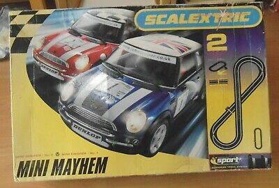 Scalextric Sport - Mini Cooper Mayhem Set