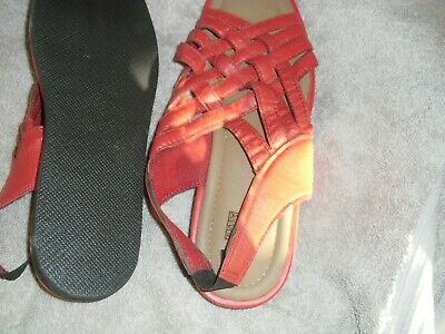 Red Strappy Sandals new without Box size 9