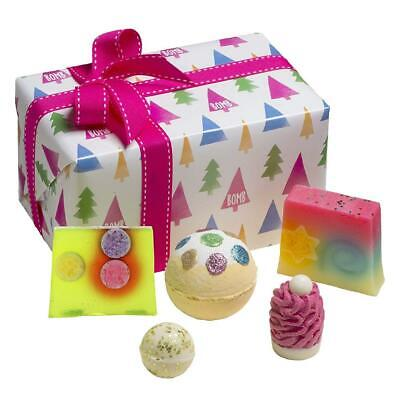 Bomb Cosmetics O Christmas Tree Handmade Wrapped Gift Pack [Contains...