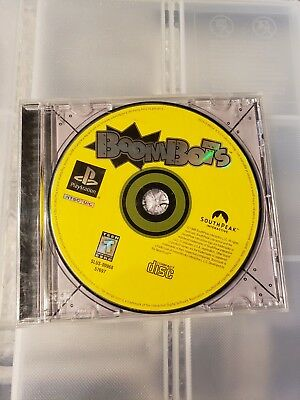 BOOMBOTS For Sony Playstation 1 2 PS1 PS2 PSX DISC ONLY!!