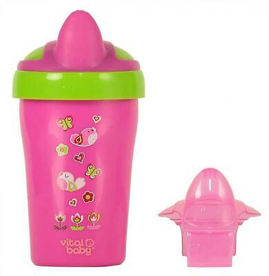 Vital Baby Soft Spout Toddler Trainer Cup, Pink