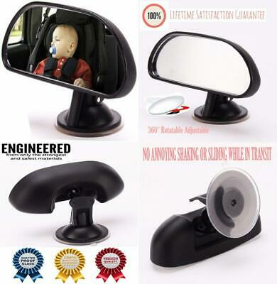 Howhome Baby Rear View Mirror, Universal Car Seat Mirror Child Safety Wide...