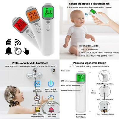 Digital Forehead Thermometer with Voice White Talking Mode