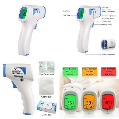 WEALLNERSSE Infrared Forehead Digital Thermometer Gun for Baby and Adults,...