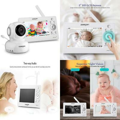 """Zeepin SP880 Digital Wireless Baby Monitor with 2.4"""" LCD Display, Two-Way..."""