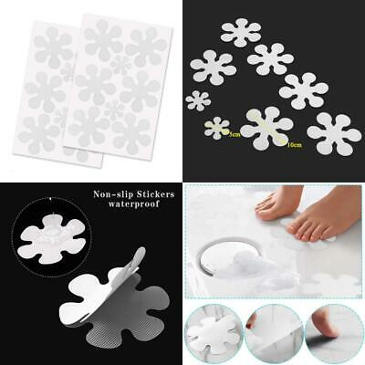 LABOTA 16PCS Anti-Slip Sticker -12 flowers at 10 cm, 4 5 cm for...