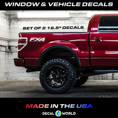 FX4 Off Road 4x4 Compatible with Ford F150 F250 F350 Decal Sticker 05