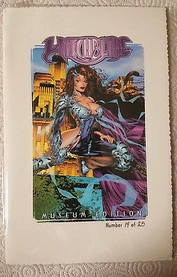 WITCHBLADE MUSEUM EDITION Marc Silvestri Comic Book Limited #/25 Cyblade/Shi