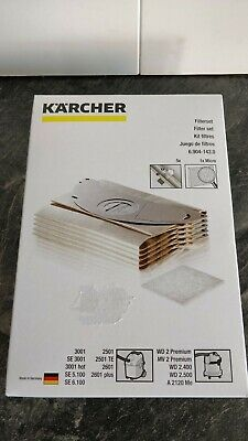 Karcher filter set 6.904-143.0   5x dustbag 1x micro filter