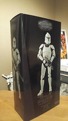 "Clone Trooper; Phase 1; AOTC; Sideshow; 1/6 ;12"" ;MIB, stormtrooper; Star Wars"