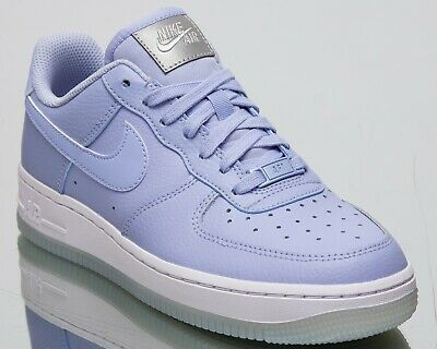 cd0e54bf40 Nike Women's Air Force 1 '07 Essential Lifestyle Shoes Aluminum White AO2132 -400