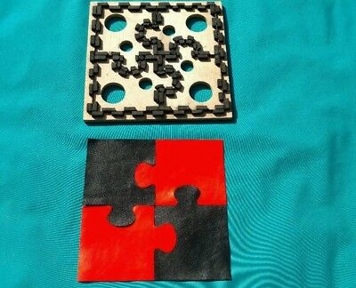 """Leather Tool - CLICKER DIE Makes A Puzzle  - 16"""" x 16"""""""