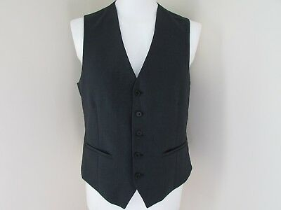 """(C1468) New Mens Waistcoat by Taylor & Wright size M Chest 42"""" Grey"""