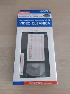 Video Cleanica ATV-211 VHS
