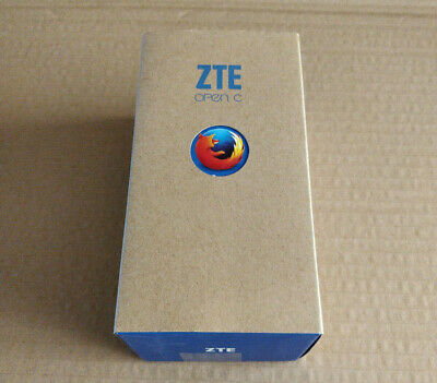 ZTE Open C Firefox OS Phone with Box and Accessories
