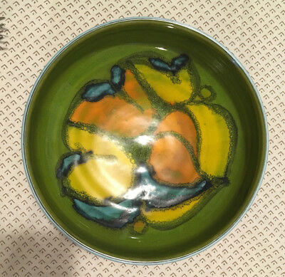 Poole Pottery Delphis bowl in perfect condition, shape 88, 1970s Cynthia Bennett